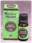 GINGER & GREEN TEA- Olejek zapachowy Aroma House 10 ml