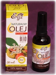 Olej JOJOBA gold - ETJA 50 ml